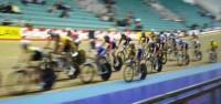 Men's Points Race (Julian in yellow shoes)